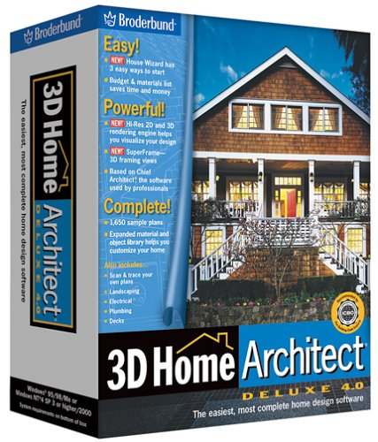 Amazon.com: 3D Home Architect Deluxe 4.0 [OLD VERSION]