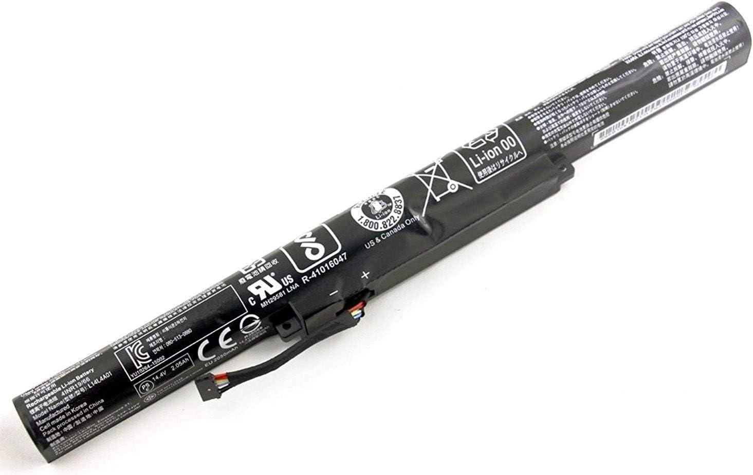 7XINbox 14.88V 2800mAh L14S4A01 L14L4E01 L14M4A01 L14M4E01 Replacement Battery for Lenovo Ideapad Z41 Z51 Z41-70 Z51-70 V4000 Y50C