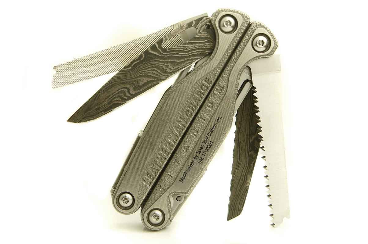 TTC Modified Tool - Dual Samurai Edition - Based on Leatherman Charge TTi
