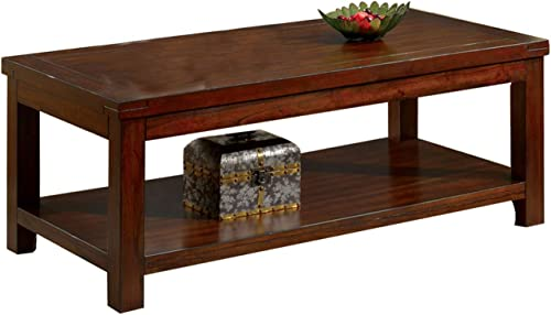Benjara Traditional Coffee Table - a good cheap living room table