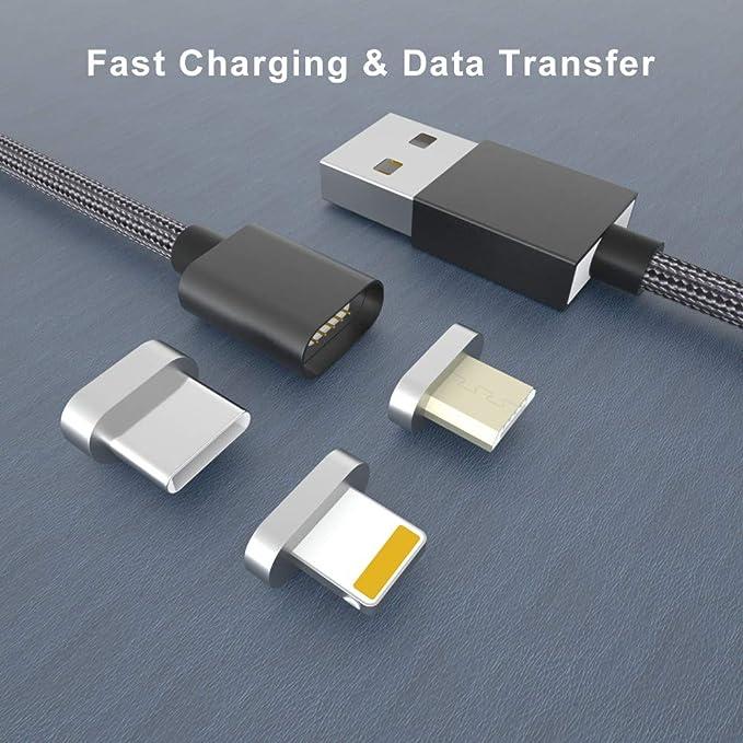 Amazon.com: NetDot Cable cargador magnético de nylon ...