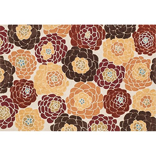 Loloi Rugs, Gabriella Collection - Rust / Multi Area Rug, 5' x 7'-6
