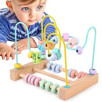 Lanlan maze spiel Kinder, die Perlen Draht Labyrinth Achterbahn ...