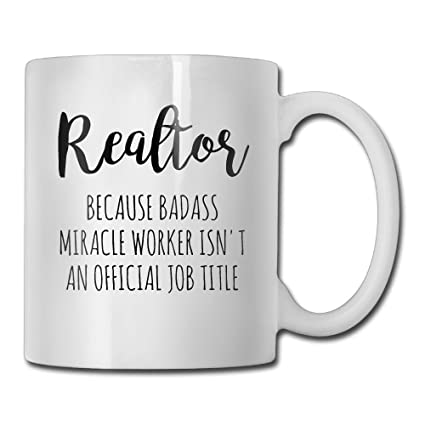 Amazon.com: Funny Quotes Mug With Sayings   Gift For Realtor