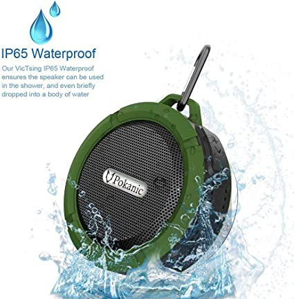 Luvinn Bluetooth Speaker,Outdoor Mini Wireless Portable Waterproof Mini Speaker,Suitable for Family Reunion,Camping