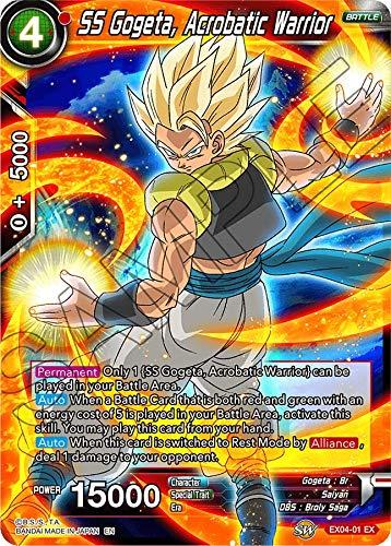 Dragon Ball Super TCG - SS Gogeta, Acrobatic Warrior - EX04-01 - EX - Unity of ()
