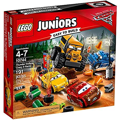 LEGO Juniors Thunder Hollow Crazy 8 Race 10744 Building Kit: Toys & Games
