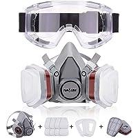 NASUM Respirador Máscara Antipolvo con 2 filtros /