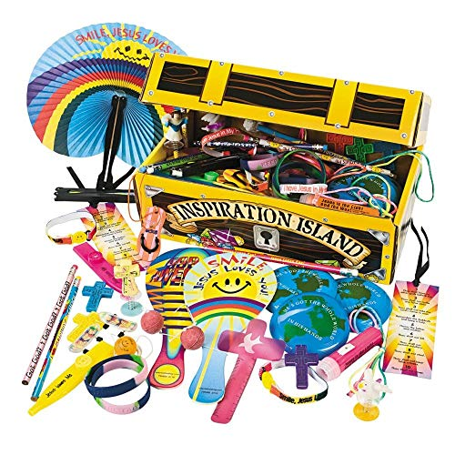 - Religious Treasure Chest Assortment - Vacation Bible School & Toys & Games