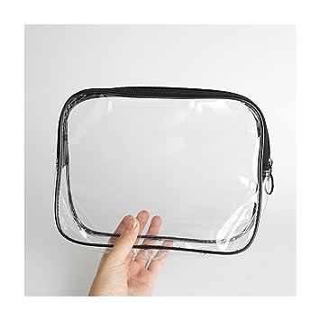 3473561ca335 Amazon.com : Transparent Handy Travel Makeup Bag Toiletry Bag Clear ...