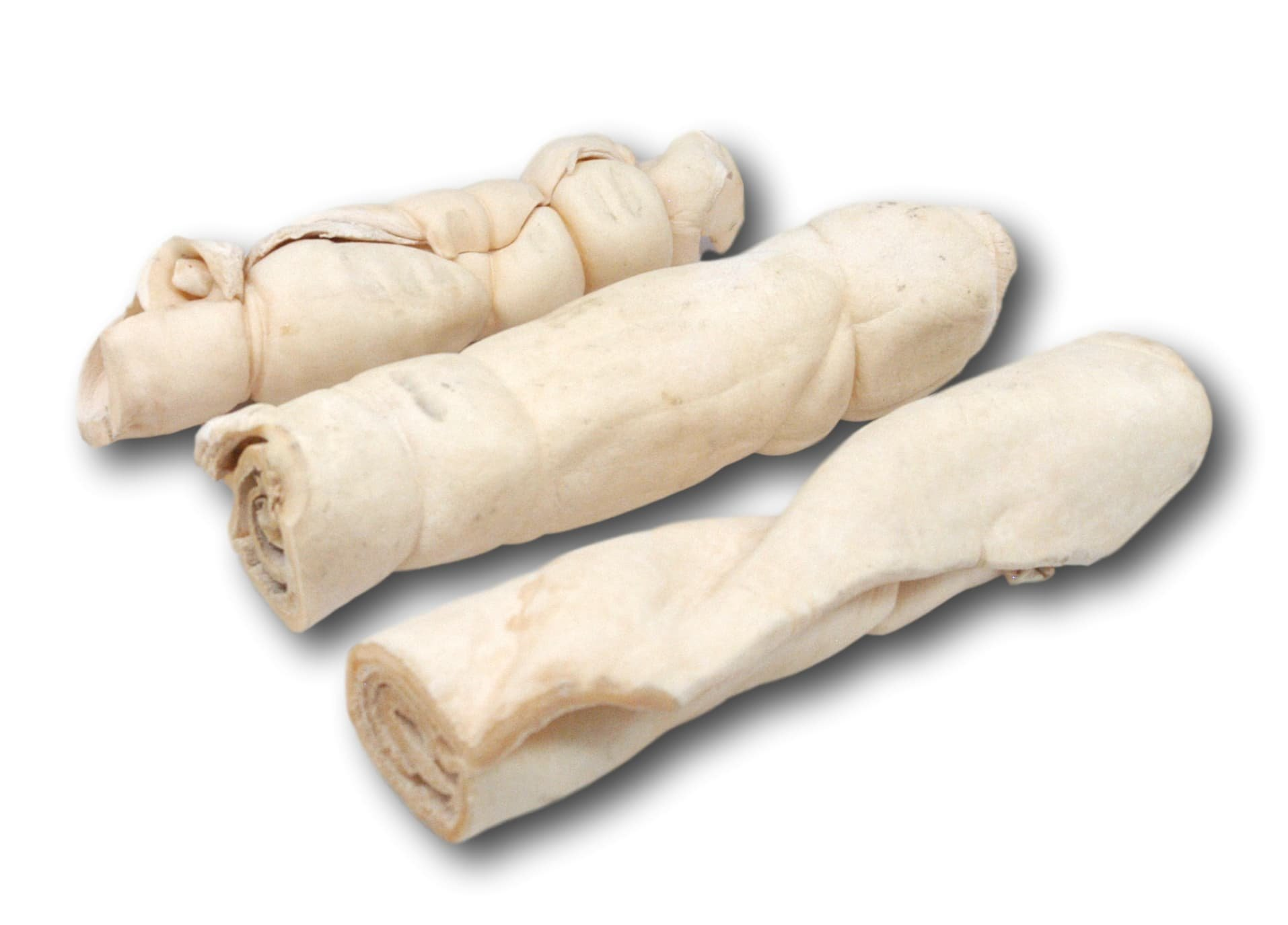 Top Dog Beef Cheek Retriever Rolls 10''-12'' Thick (3pack) This product is not from China Chews