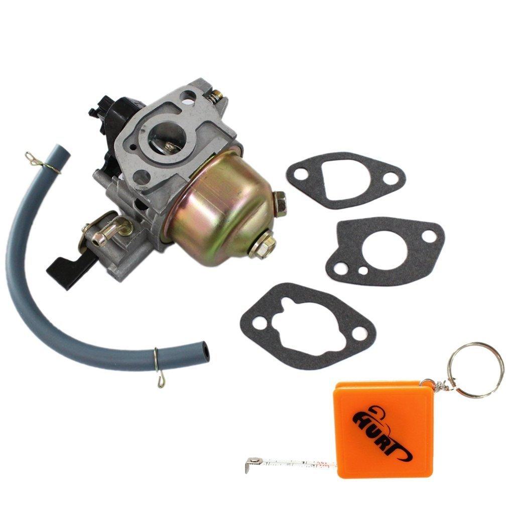 HURI Carburetor Carb Gasket fit for Honda HR194 HR214 HRA214 HR215 HR216 GXV140 GXV160 Lawnmower Motor Engine Replace 16100-ZE6-W01
