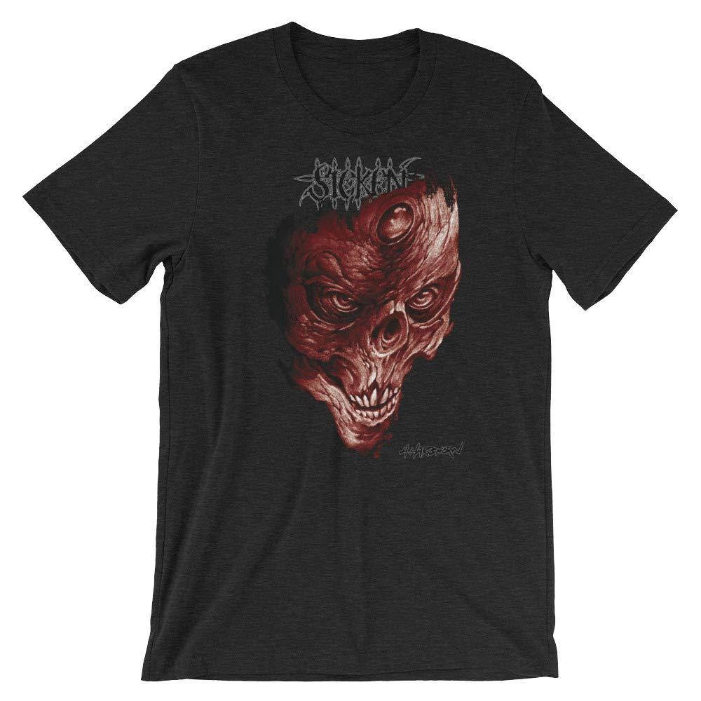 Sicken Clothing Death Storm Mens T-Shirt by Tattoo Artist Al Hartshorn