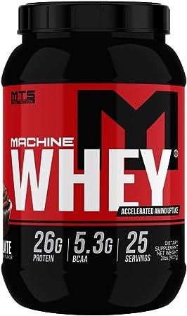 MTS Machine Whey Protein (2lbs, Chocolate)