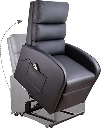 Homall Electric Power Lift Recliner Chair Sofa PU Leather Home Recliner