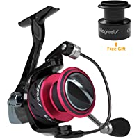 Magreel Spinning Reels, Extra-Smooth Saltwater Spinning Fishing Reel with Free Plastic Spool