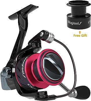 Magreel Spinning Reels, Extra-Smooth Saltwater Spinning Fishing Reel