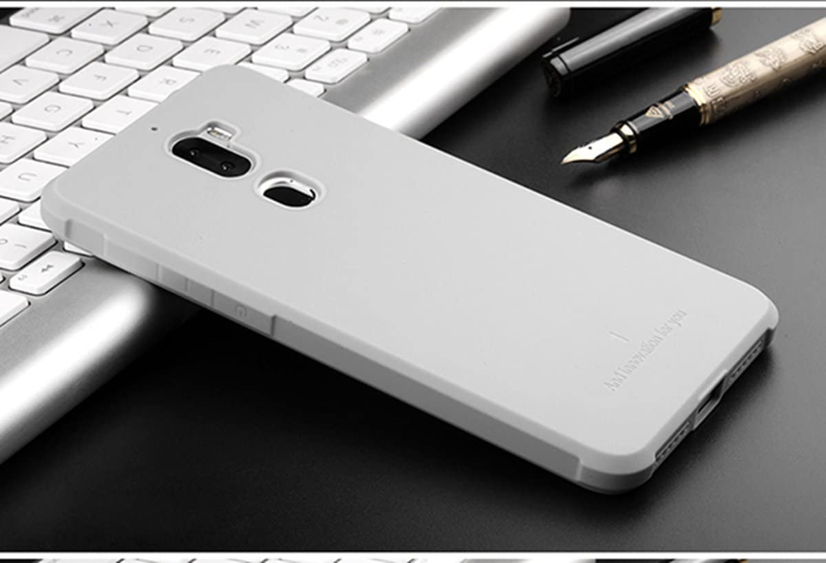 Funda LeEco Cool1 Ultra Caso Thin Soft Silicone Anti-knock Rubber Case Cassa Shockproof Protective Cover Bumper Armor for LeEco Cool1 Teléfono Celular (Light Grey): Amazon.es: Electrónica