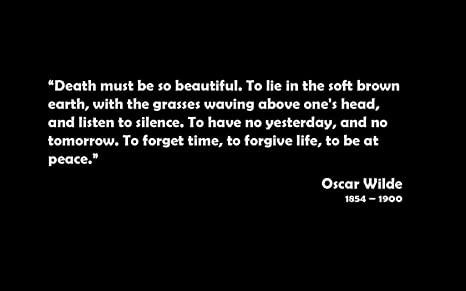 Posterhouzz Black Background Oscar Wilde Quotes Text Premuim
