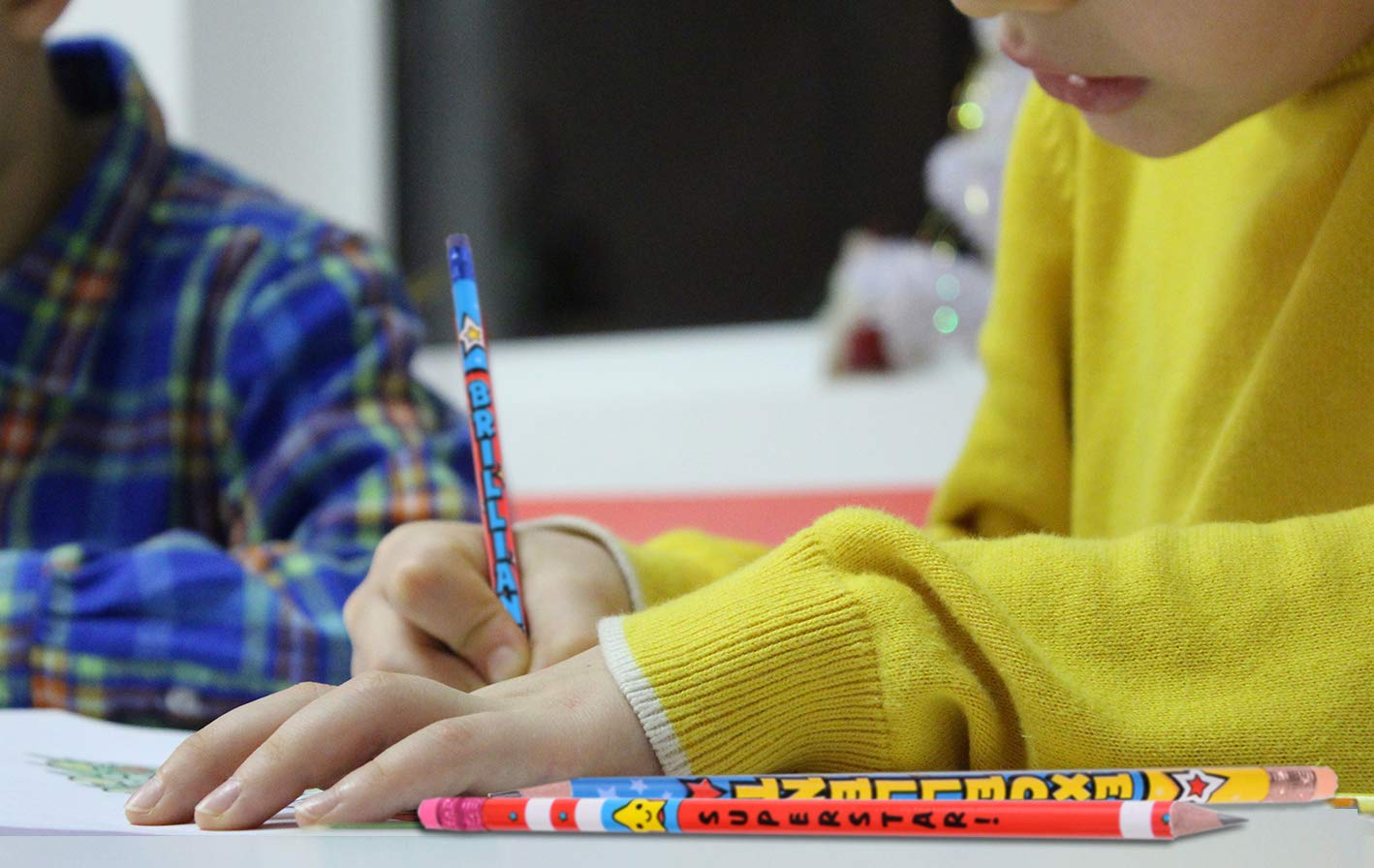 Madisi Assorted Colorful Pencils, Incentive Pencils,#2 HB, 10 Dsigns, 150 Pack, pencils bulk for kids by Madisi (Image #5)