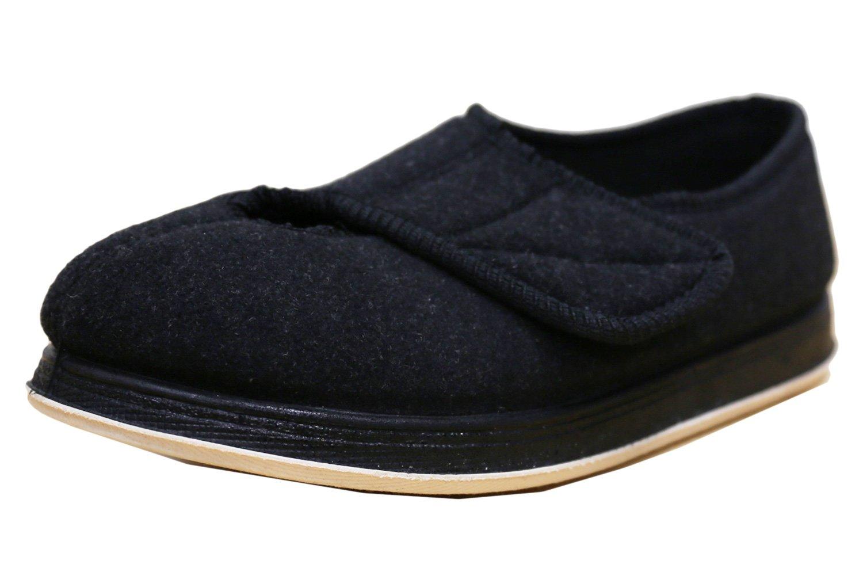 Foamtreads Women's Kendale Slipper,Black,11 W US