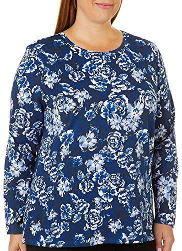 oral Bouquet Top 3X Twlight Blue ()