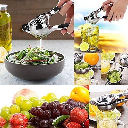Firlar limón Exprimidor de acero inoxidable manual de la fruta cítrica de la cal Exprimidor anticorrosivo jugo de prensa de la mano de la fruta