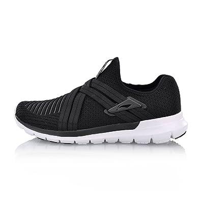 new product d9de1 1b19c LI-NING Men Superlight Flex Run V2 Running Series Flexible Light Weight  Comfort Sports Shoes