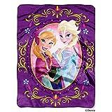 Disney Frozen Nordic Love Silk Touch Throw Blanket, 46'' x 60''