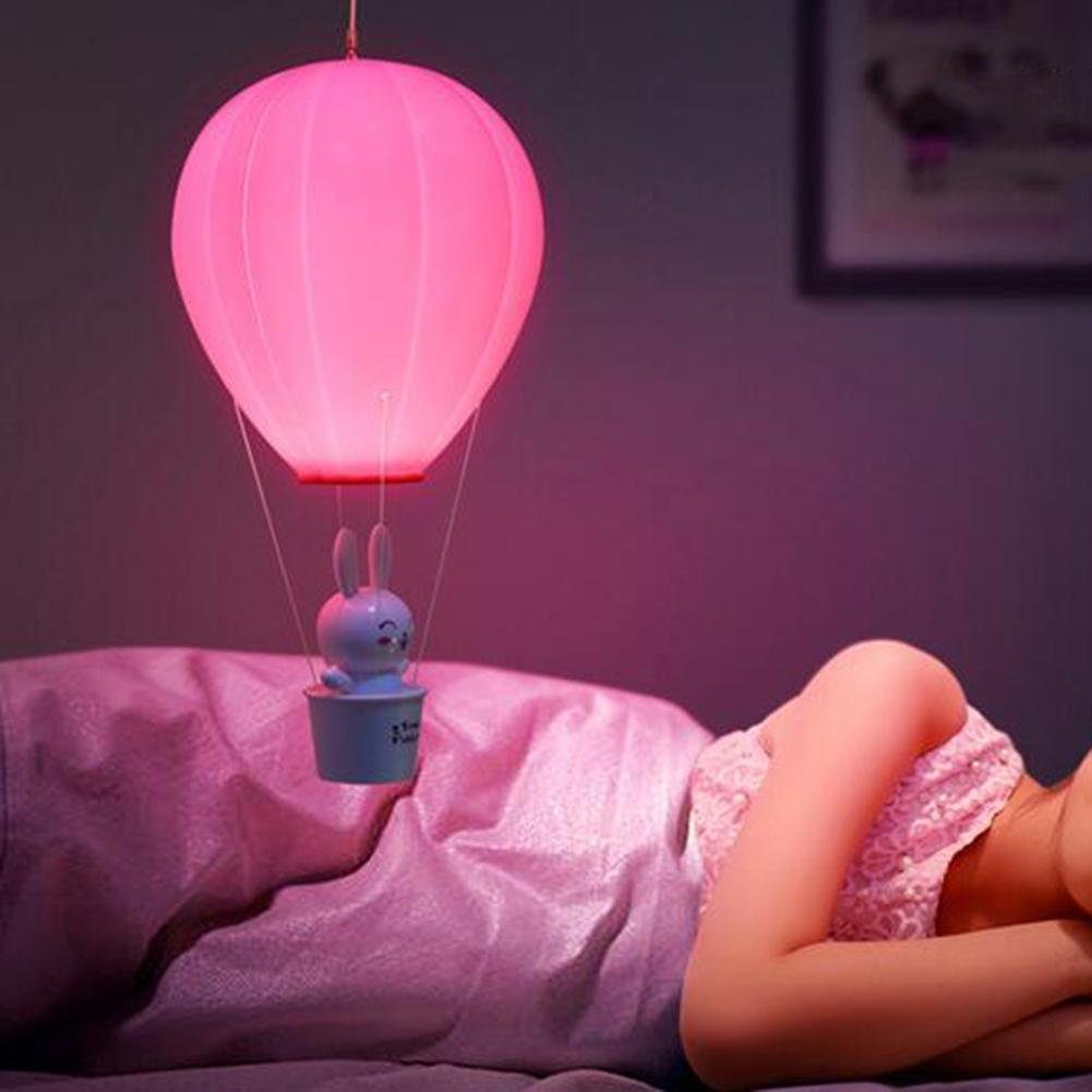 Lyy Heißer Ballon LED Night Lamp Intelligente Induktion Startseite USB Aufladen Touch-Steuerung Licht yellow Lampe