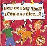 Cómo se Dice... ?, Sue Wise, 0836862597