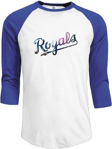 hotboy19 Hombres Kansas City KC raglán 3/4 Manga Camiseta ...