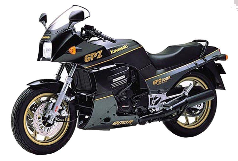 Amazon.com: 1/12 Moto Nº 08 Kawasaki GPZ900R Ninja A6 ...
