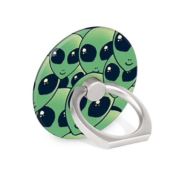 Amazon com: Alien Emoji Ring Phone Holder Stand Mounts for