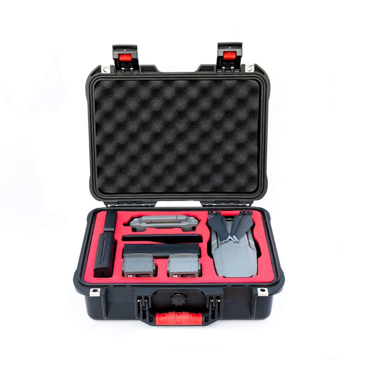 Tellaboull for Wasserdichte Fall DJI Mavic 2 Aufbewahrungsbox Reise Tragbare Tragen Sicherheit Fall Für Mavic 2 Pro Zoom Drone Zubehör