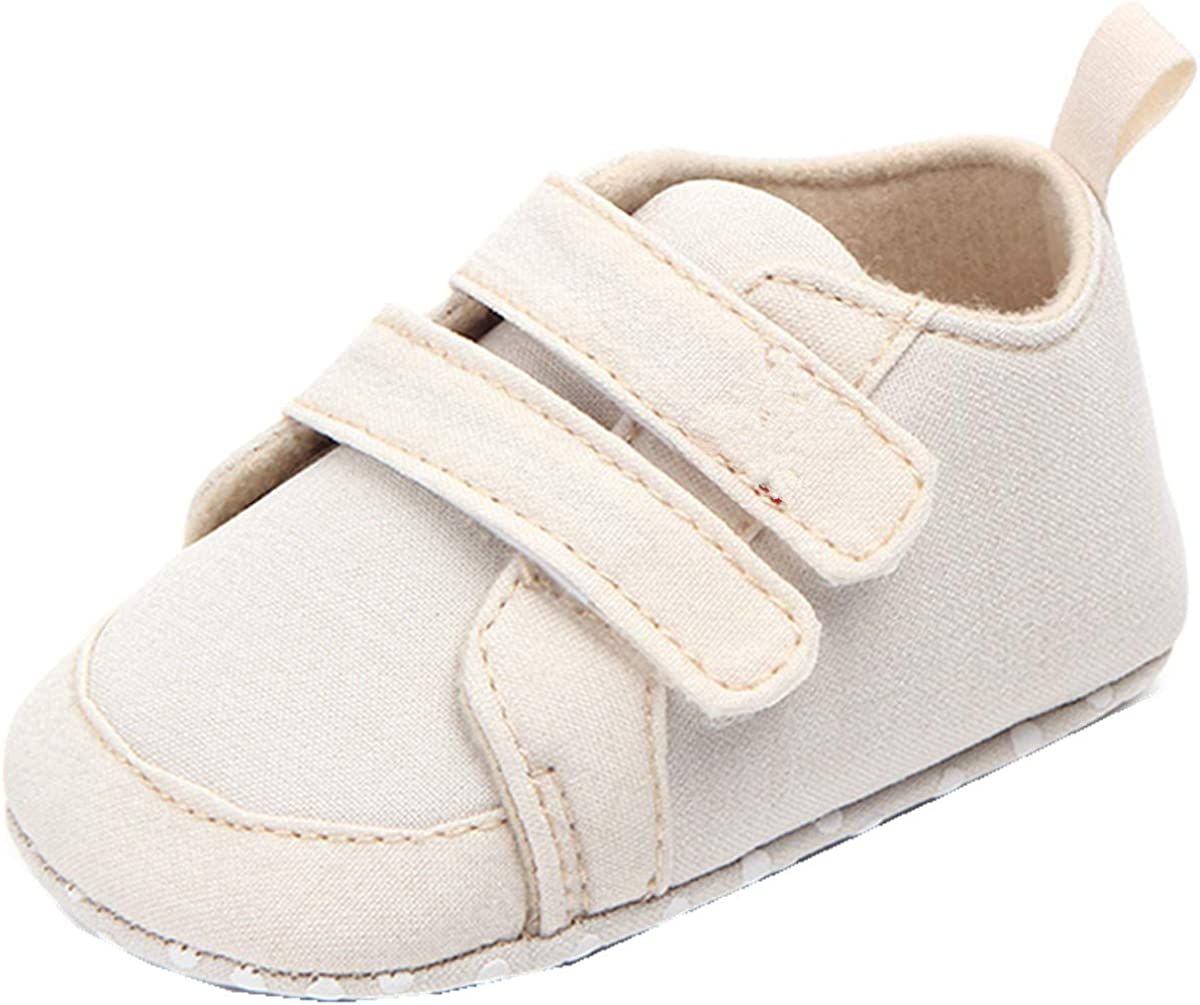 ADIASEN,Baby Unisex Shoes,Newborn Shoes,Infant Shoes,Toddler Shoes,Cute Baby Canvas Sneaker Antiskid Soft Trainer Shoes Soft Sole Shoes Anti-Slip