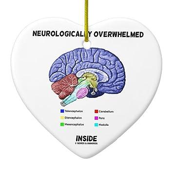Amazon.com: Zazzle Neurologically Overwhelmed Inside (brain Humor ...
