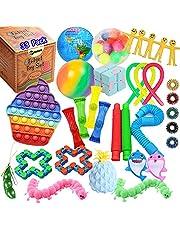 TimiCare Fidget Packs, Fidget Pack Cheap, Fidget Toys Set, Stress Relief Anti-Anxiety Fidget Packs Set, Fidget Toys for Kids and Adults