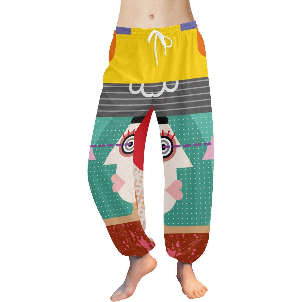 Graffiti Pop Art Womens Yoga Harem Pants at Amazon Womens ...