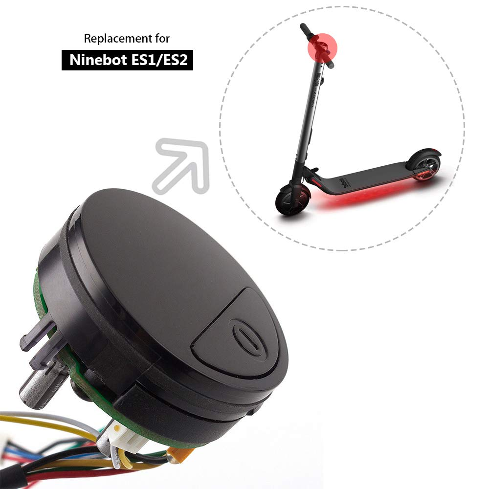for Ninebot by Segway ES1 ES2 ES4 Foldable Electric Scooter-Original Dashboard Switch On-Off Assembly