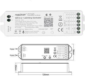 MiBOXER WiFi LED Controller WL5 Amazon Alexa Compatible Strip Voice Control RGBW