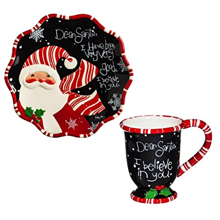 Cypress Home Dear Santa Cookies for Santa Gift Set