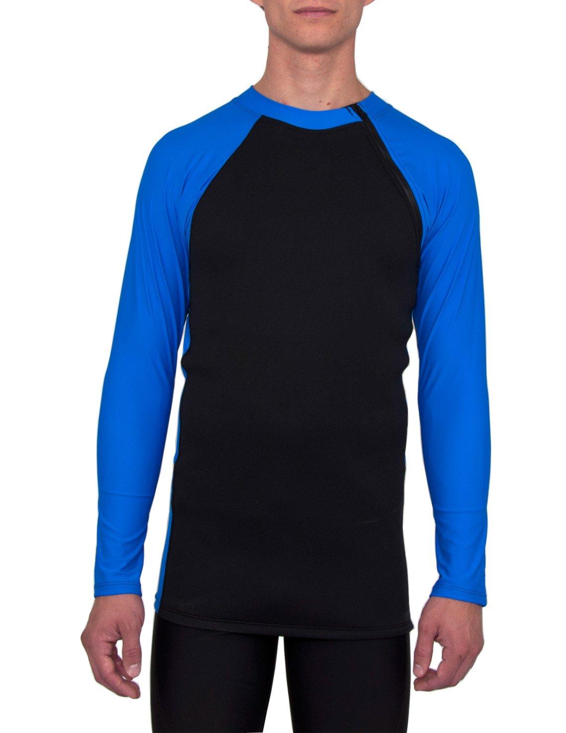 TUGA Sunwear UV-Schutzkleidung Badeshirt Thermo-Top aus Neopren und Nylon//Elasthan /Ärmel UPF50+
