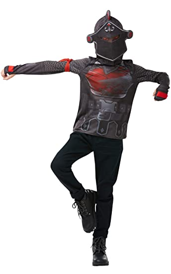 Rubie S Offizielles Fortnite Black Knight Kostum Kit Gaming Skin