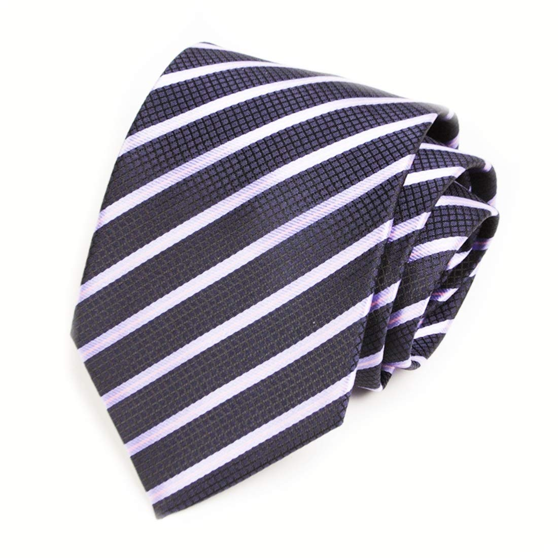 SHIZHESHOP Lazo de los Hombres del Negocio Empate Corbata Rayada ...