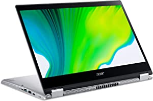 "Acer Spin 3 14"" Laptop - 10th Gen Intel Core i5-1035G1 14"" Widescreen IPS LED-Backlit FHD (1920 x 1080) Display 8 GB RAM 256 GB SSD SP314-54N-58Q7"