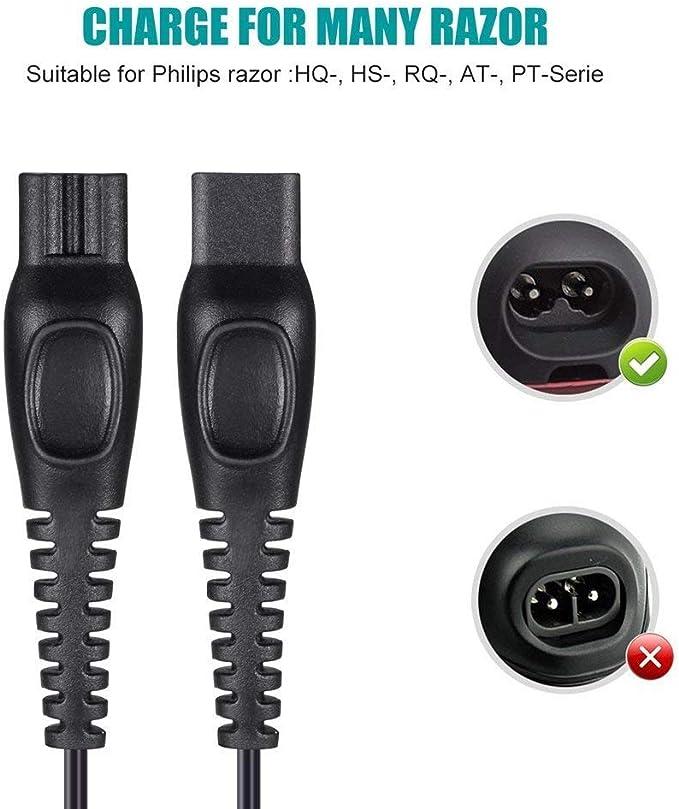 Hincore 5V USB a DC 15V para Philips Razor Shaver Charger Cable de ...