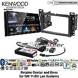 Volunteer Audio Kenwood DMX7705S Double Din Radio Install Kit with Apple CarPlay Android Auto Bluetooth Fits 2007-2010 Cobalt, 2008-2012 Malibu