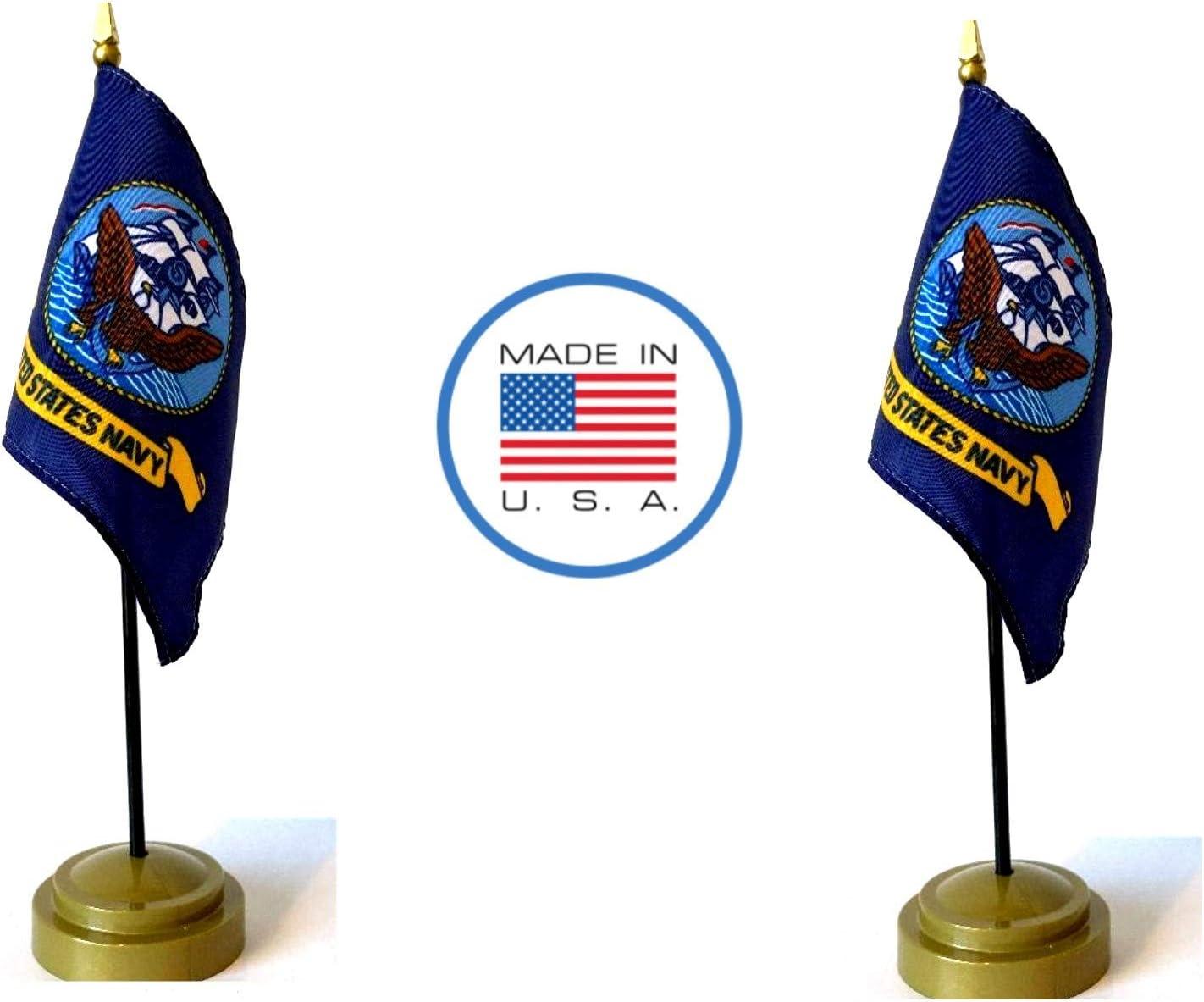 United States Navy USN Small Hand Waving Flag