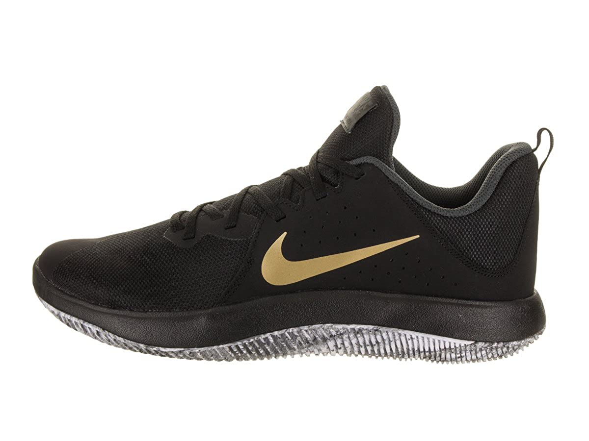 3137dab88b64 Nike Fly.by Low Blk-MTLC Gold-Antrct  Buy Online at Low Prices in India -  Amazon.in